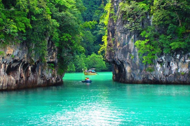 Private Speed Boat Tours To Phi Phi Island Maya Bay Khai