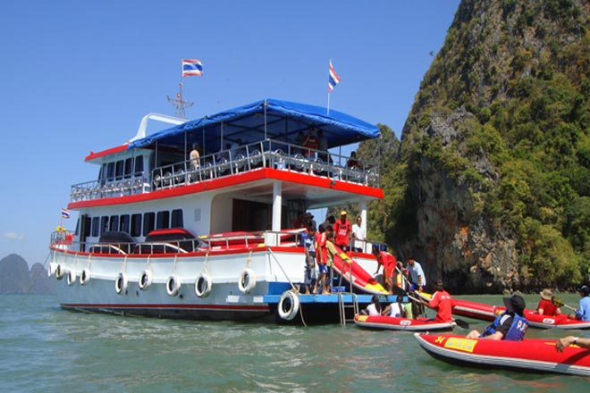 Phang Nga Sea Canoe Big Boat