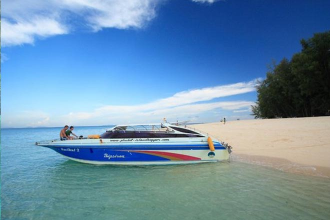 Phi Phi Half Day Tour Speed Boat