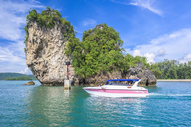 Phi Phi Maiton Speed Boat